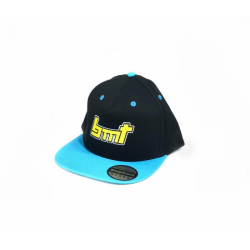 BMT Snapback Hats Blue/Black