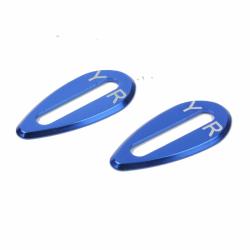 Yeah Racing Aluminiom Body Wing Protector Plate 1/10 TC (Blue)