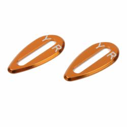 Yeah Racing Aluminiom Body Wing Protector Plate 1/10 TC (Orange)