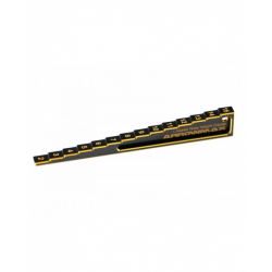 ArrowMax Chassis Ride Height Gauge Stepped 2mm - 15mm Black Golden