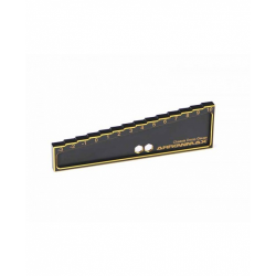 ArrowMax Chassis Droop Gauge -3 to 10mm for 1/8 Car (20mm) Black Golden