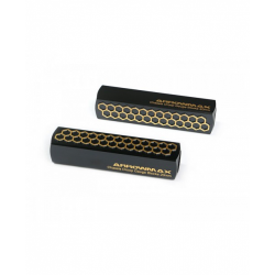 ArrowMax Chassis Droop Gauge Blocks 20mm Black Golden (2)