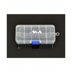ArrowMax 10-Compartment Parts Box 132x68x22mm