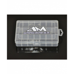 ArrowMax 21-Compartment Parts Box 196x132x41mm
