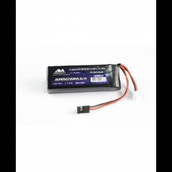 ArrowMax Lipo 2400mAh 2S TX/RX 7.4V Flat Pack