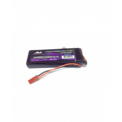ArrowMax Pacco Batteria LiPo RX 7,4V 1400mAh RX Ultra Piatto