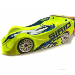Schepis Model 1/8 Rally Game GT Stealth 2.0 LEGAL Body (Lexan 1mm)