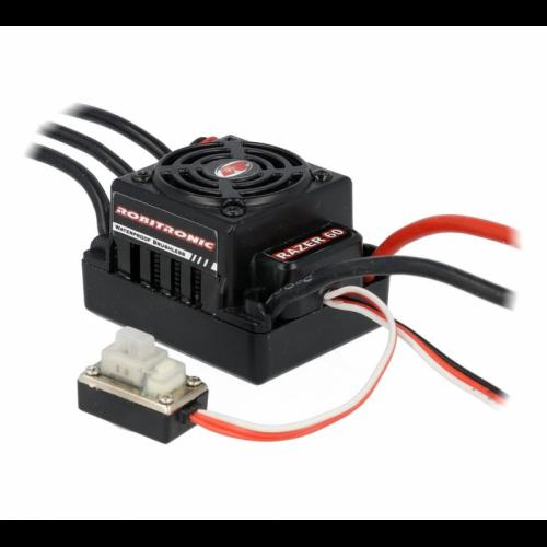 Robitronic Razer Ten Regler 60A Brushless Sensorless Waterproof ESC