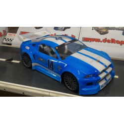Delta Plastik Ford Mustang GT 1/8 Rally Game Body 1,5mm