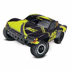 Automodello Elettrico Traxxas Slash 2WD RTR Valentino Rossi Edition