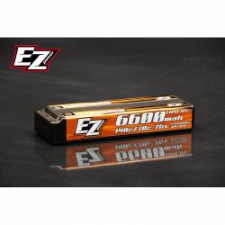 EZ Power Pacco Batteria LiPo HV Hard Case 6600mAh LCG 7,6V 70C/140C