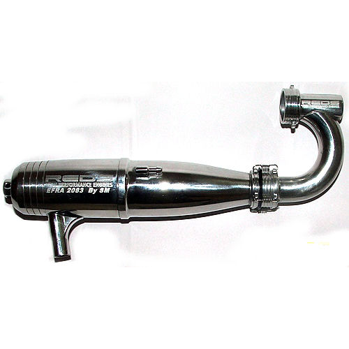 Reds EFRA 2083 Off/Road Inline Tuned Pipe + Double-Tube Manifold