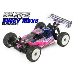 Blitz Carrozzeria Buggy Mugen MBX6 Off/Road con adesivi