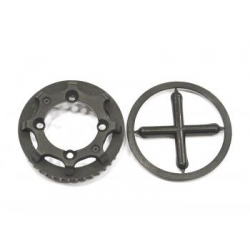 SPT804148 Serpent 733 Rear Differential Pulley 40T