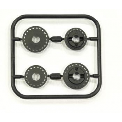 SPT804113 Serpent 733 Pulley Middle 18T & 21T