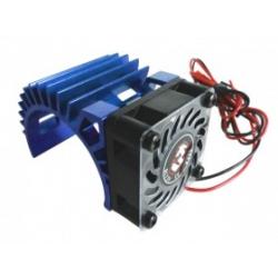 3 Racing Dissipatore per motori elettrici 540 con ventola V2 Blu
