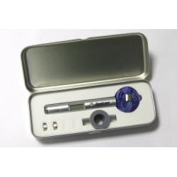 Fastrax Lettore di temperatura laser con custodia in metallo