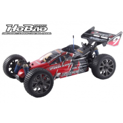89073 Hobao Hyper 9 Clear Body with decals