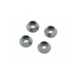 B0431 Mugen MBX6 Rondelle coniche 3mm (4pz)