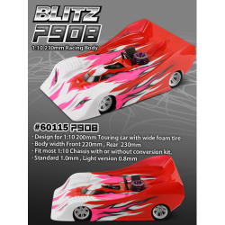 Blitz P908 1/10 230mm Racing Body