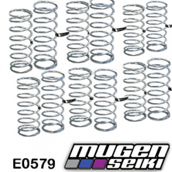 E0579 Mugen MBX6 Front & Rear Damper Spring Set 1.5 (8 pairs)