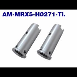 ArrowMax Titanium Front Axle Shaft For Uuniversal Mugen MRX4/5