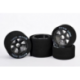Hot Race 10 Set Front/Rear 1/8 On/Road Tires on Carbon Rims 32/35 Shore