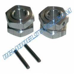 115000206 Ansmann Virus Wheel Hubs & Nuts (4)