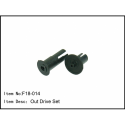 F18-014 Caster Racing F18 Out Drive SetF18-014 Caster Racing F18