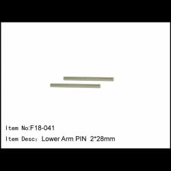 F18-041 Caster Racing F18 Pin Bracci sospensioni 2x28mm