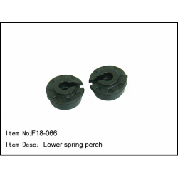 F18-066 Caster Racing F18 Lower spring perch