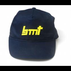 BMT Cappello Blu con loghi fronte e retro