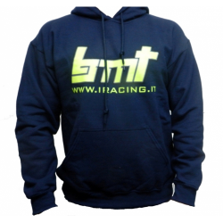 BMT Blue Sweatshirt with logo Front and Rear (XL Size)