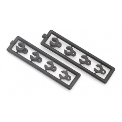 302080 Xray RX8 Caster Clips Set - 4,3,2,1mm (2)
