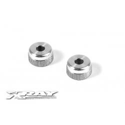 308326 Xray NT1/RX8 Tappi ammortizzatori inferiori in ergal (2)