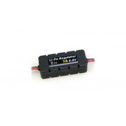 Etronix Regolatore elettronico per batterie LiPo RX 6V/5A
