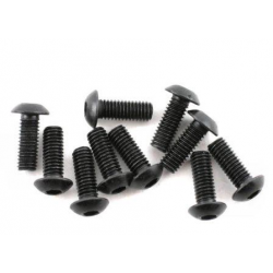 BMT.0160 Button Head Screw 3x6mm (10pcs)