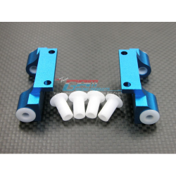 GPM Alloy Front/Rear Upper Arm Bulk for Thunder Tiger MTA4 (Blue