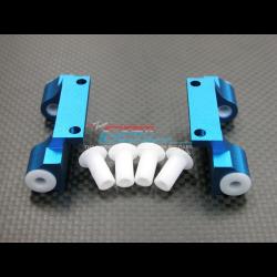 GPM Supporto bracci sospensioni Ant/Post in ergal per MTA4 (Blu)