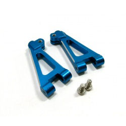 GPM Alloy Front Upper Arm Set for Thunder Tiger TS4 (Blue) 2pcs