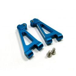 GPM Bracci anteriori superiori in ergal per TS4 (Blu)