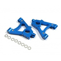 GPM Alloy Front Lower Arm Set for Thunder Tiger TS4 (Blue) 2pcs