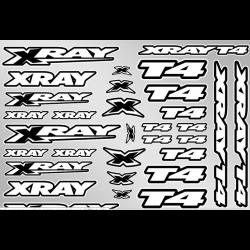 397326 Xray T4 Set Adesivi