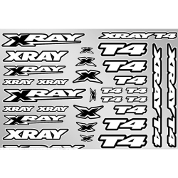 397326 Xray T4 Sticker for Body - White