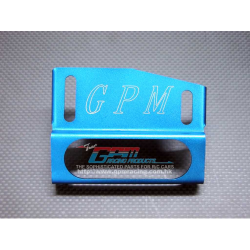 GPM Alloy Fuel Tank Protector for Thunder Tiger MTA4 (Blue)