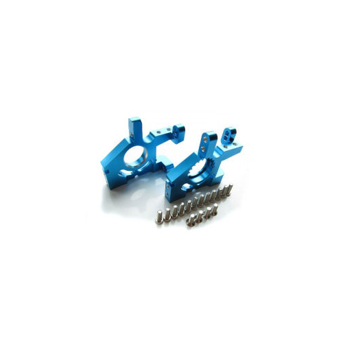 GPM Alloy Front Gear Box for Thunder Tiger TS4 (Blue)
