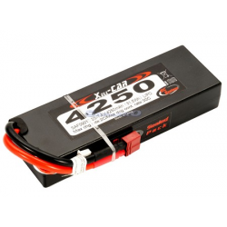 RC System LiPo Car Pack 4250mAh 30C Battery with Hard Case