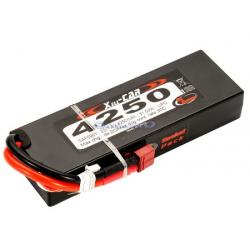 RC System Pacco Batteria LiPo Hard Case 4250mAh (30C) 7,4V