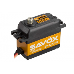 Servocomando Digitale Coreless Savox SV-1273TG High Voltage 7.4V