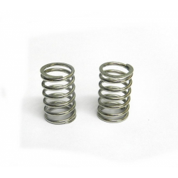 PA0049 BMT 984 Silver Shock Spring Rear (2pcs)